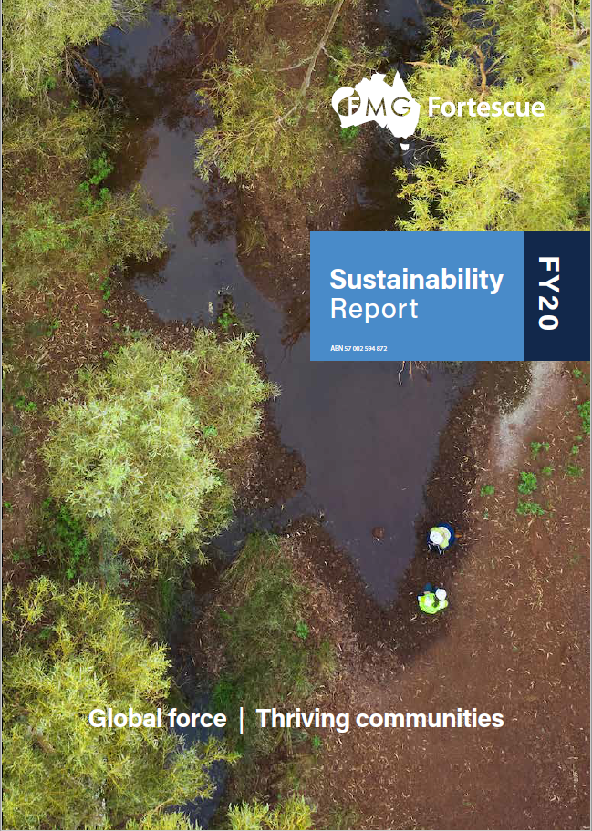 Sustainability Report image
