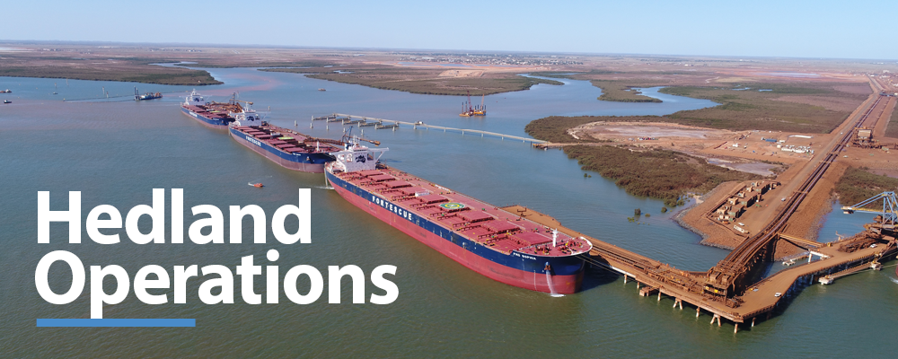Banner - Hedland Operations