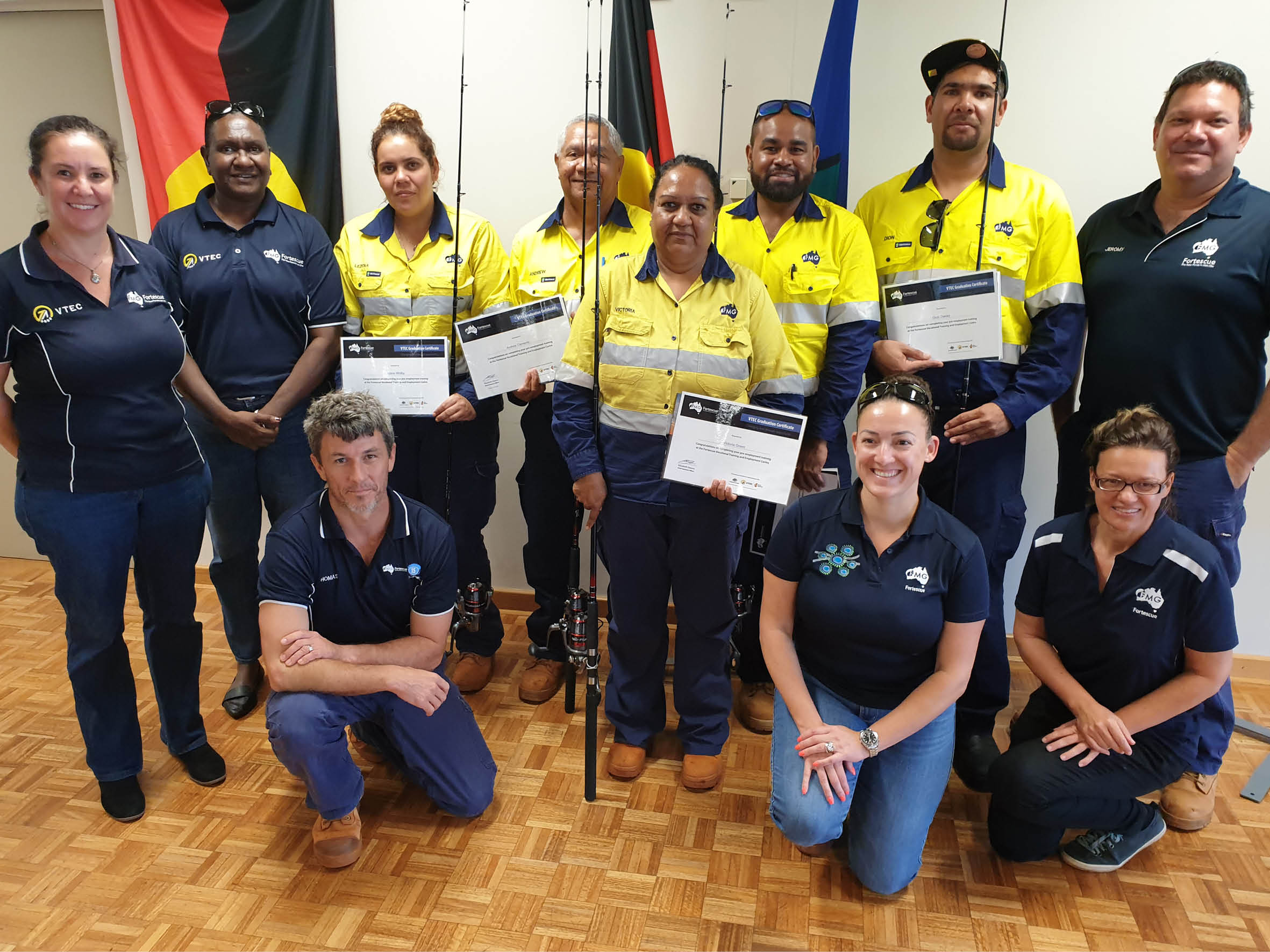 190411 Fortescue's VTEC provides career progression opportunities (Story)